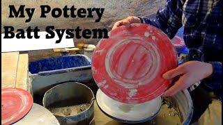 My Pottery Making Batts : How to make them.