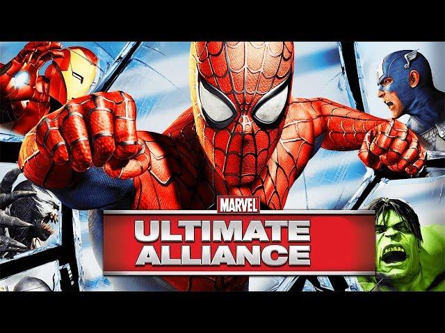 MARVEL ULTIMATE ALLIANCE Saga Game Movie (All Cutscenes) 1080p 60FPS