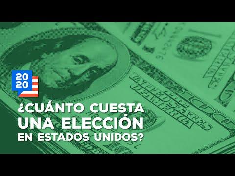 ¿Cuánto cuesta una elección en EUA?