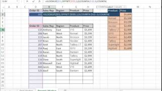 Dynamic Vlookup using offset function- (Hindi) Bhavesh's Excel Tricks