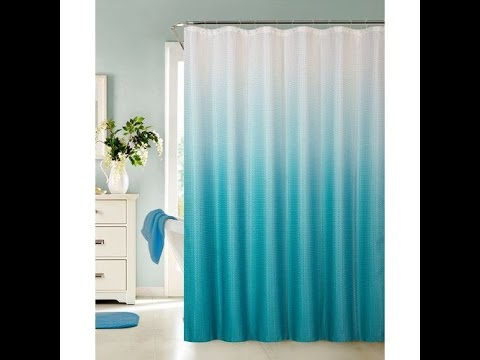 Bathroom decorating ideas with shower curtain