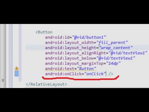 Android: Button Click Event  New method