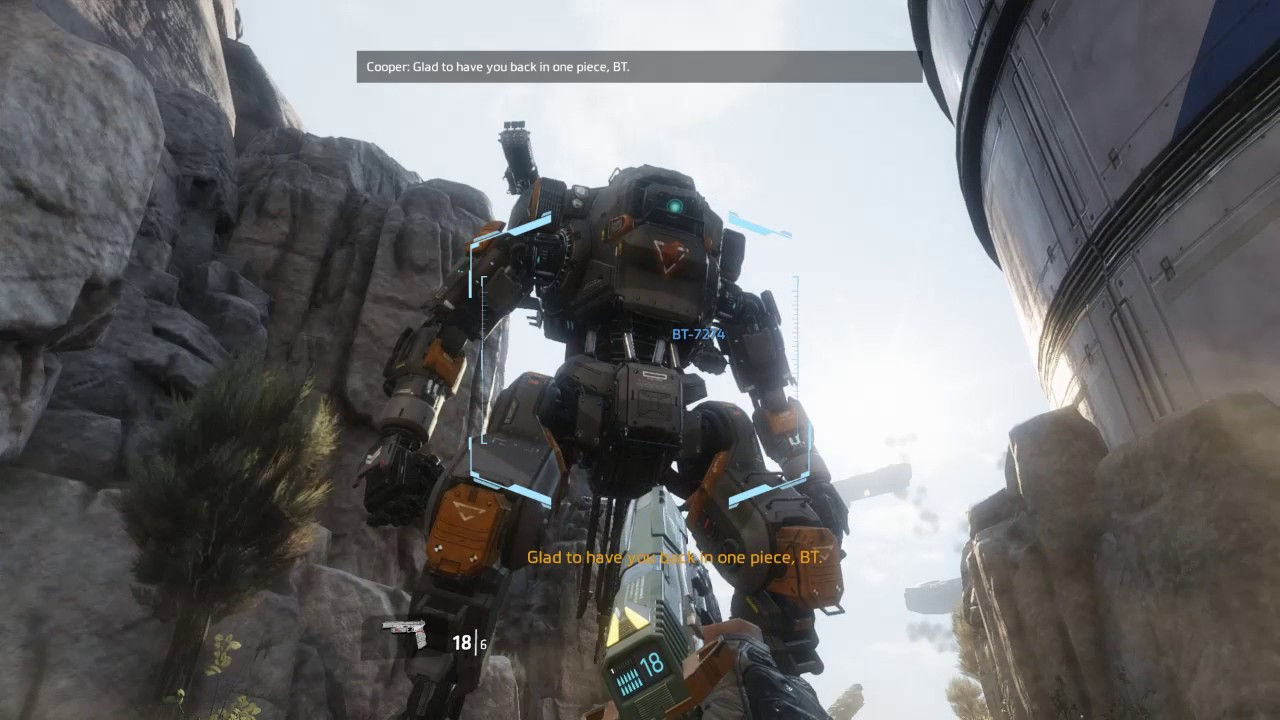 Titanfall 2, BT-7274 Back In Action - YouTube