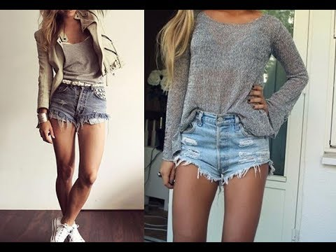 Best high waisted shorts outfit ideas youtube best high waisted shorts outfit ideas urmus Images