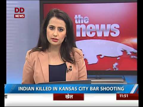 An Indian engineer killed in Kansas city bar shooting