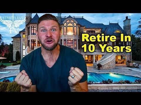 How To Retire In 10 Years - Much Easier Than You Think