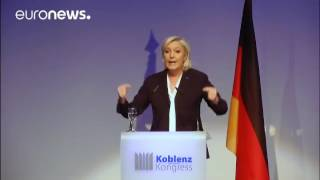 Brexit 'will bring down all of Europe, Marine Le Pen declares