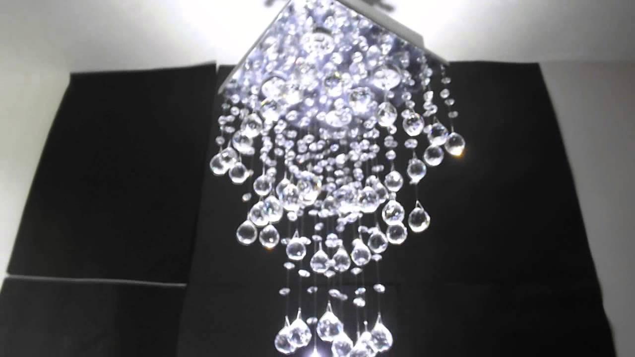 Lustre de cristal 53 bolas youtube - Lustre pampilles cristal ...