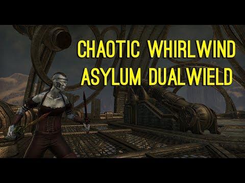 Chaotic Whirlwind Dualwield Asylum Weapons - Clockwork City DLC