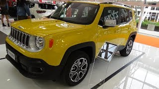 2018 Jeep Renegade Limited - Exterior and Interior - Bologna Motor Show 2017