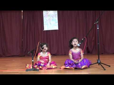 Trisha Hulikere and Jiya  Hulikere sing Jogada Siri
