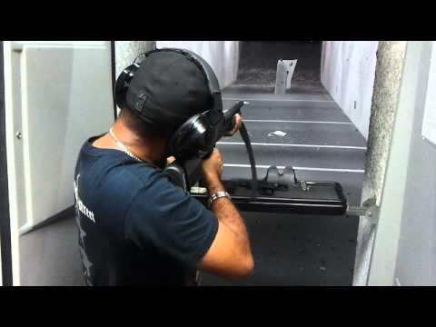 Gib shooting a mossberg 500 with ATI tactical buttstock