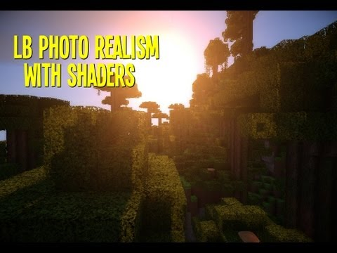 minecraft hd 256x256 lb photo realism texture pack with glsl