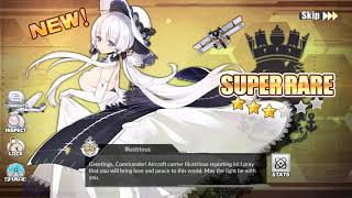 [Azur Lane] 20 Constructions Dyed in Red Event