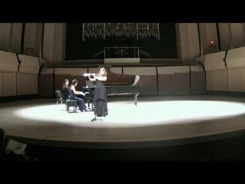 Lili Boulanger- Nocturne- Nicole Esposito, flute, Seong-Sil Kim, piano