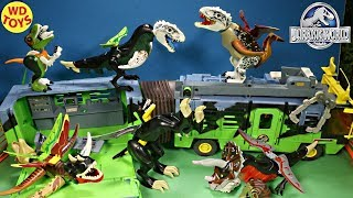 New Jurassic Park Mobile Command Center Lego Jurassic World 10 Hybrid Surprise Eggs Mutant Freaks
