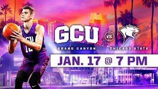 GCU Men's Basketball vs. Chicago State Jan 17, 2019