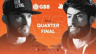 B-ART vs MB14 | Grand Beatbox Battle 2019 | 1/4 Final