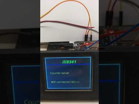 Esphome ili9341 support on esp32 nodemcu, Видео, Смотреть онлайн