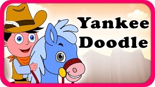 Yankee Doodle Doo Lyrical Video | English Nursery Rhymes Full Lyrics For Kids & Children