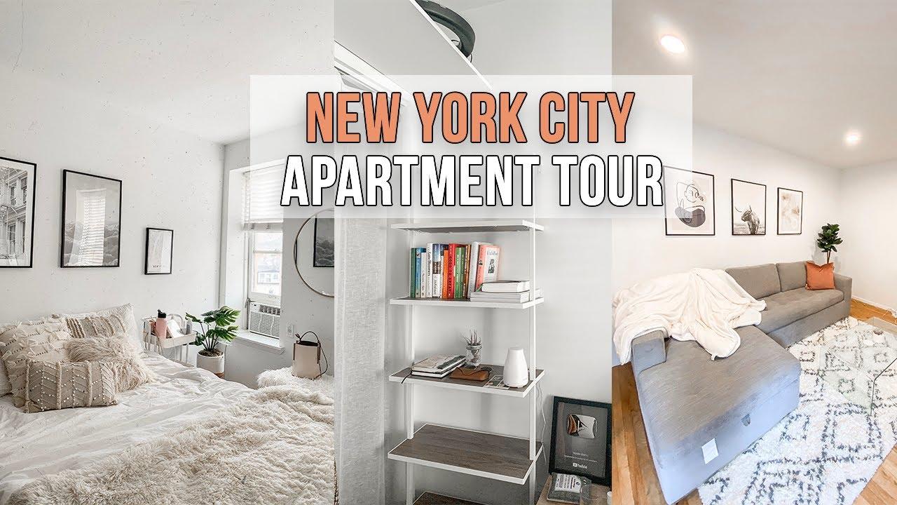 MY NEW YORK CITY APARTMENT TOUR | Downtown Manhattan | 2 ...