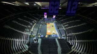 Madison Square Garden Tennis Time Lapse