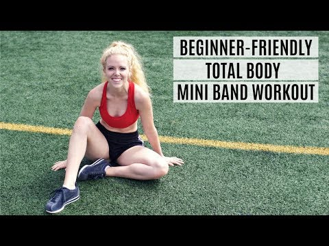 Beginner Friendly Total Body Mini Band Workout | MFit