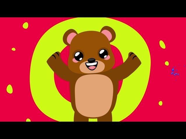 Ayılar Şarkısı - Sayıları Öğreten Çocuk Şarkısı - Orman Hayvanları