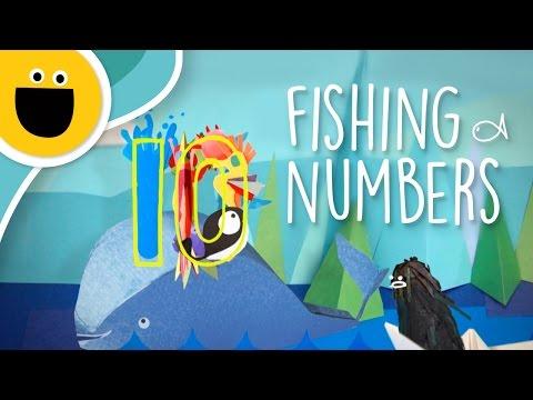 Fishing for Numbers (Sesame Studios)