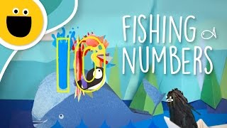 Fishing for Numbers (Sesame Studios)