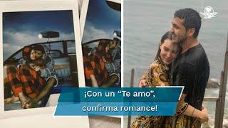 A través de su cuenta de Instagram, el cantante de regional mexicano confirmó una relación amorosa con la interpreté