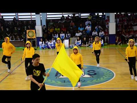 Sports Day & Cheer Dance competition 2017 - Yellow Team