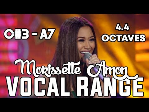 [HD] MORISSETTE AMON VOCAL RANGE IN 2017 (C#3-A7)