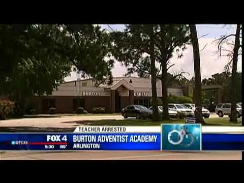 Arlington private school teacher arrested