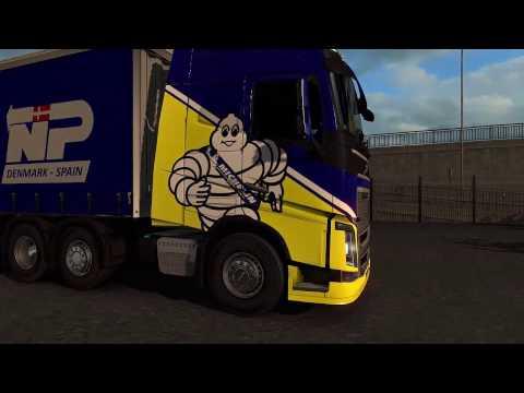 Euro Truck Simulator 2 Gameplay -   Berlin (Germany) to Hull (UK)