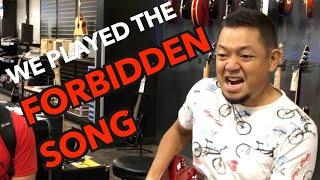 """We played """"Stairway to Heaven"""" in a Guitar Center!"""