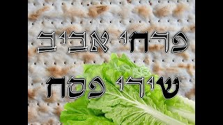 מחרוזת שירי פסח I פרחי אביב I ניצוח: גלעד פוטולסקי *  pesach songs aviv boys choir