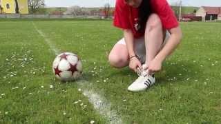 Holka fotbalistka?