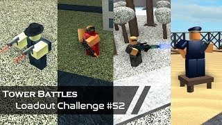 The Allied Powers | Loadout Challenge #52 | Tower Battles [ROBLOX]