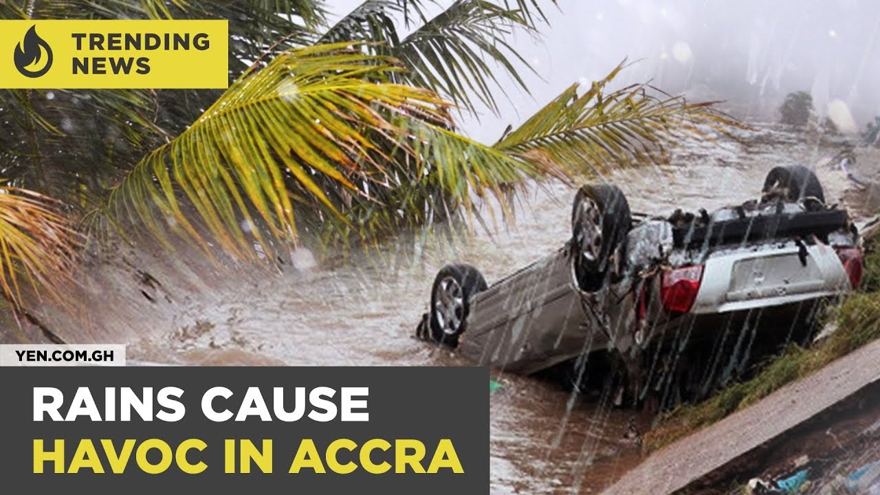 Ghana News Today: 5 confirmed dead / some schools closed down following  torrential rains | #Yencomgh