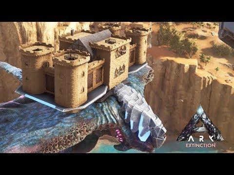 Ark: Extinction - Desert Titan Sand Castle (Speed Build)