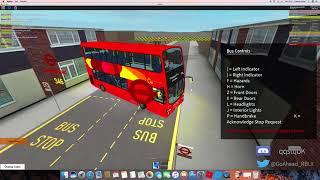 ROBLOX East London Bus Simulator V5.1 (Never do the 346 in a Volvo B9TL Gemini 2)