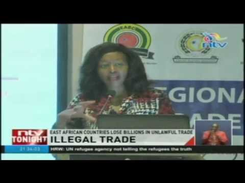East African countries lose billions in unlawful trade