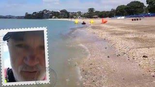 Окленд, океан, каякинг часть 1