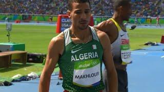 توفيق مخلوفي يتأهل الى نصف النهائي 1500 متر (ريو 2016) Taoufik Makhloufi