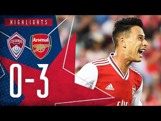 Martinelli's brilliant debut, plus Olayinka's screamer! 😱 | Colorado Rapids 0-3 Arsenal - Highlights