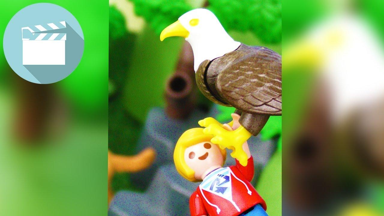MARVIN wird vom ADLER in die LUFT ENTFÜHRT! | Playmobil Film Deutsch