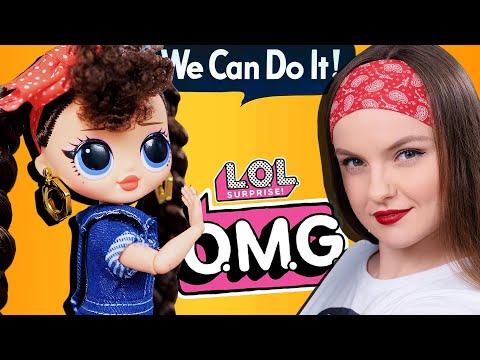 Кукла с того самого плаката 1943 года! LOL Surprise OMG Busy B.B.   Обзор и распаковка