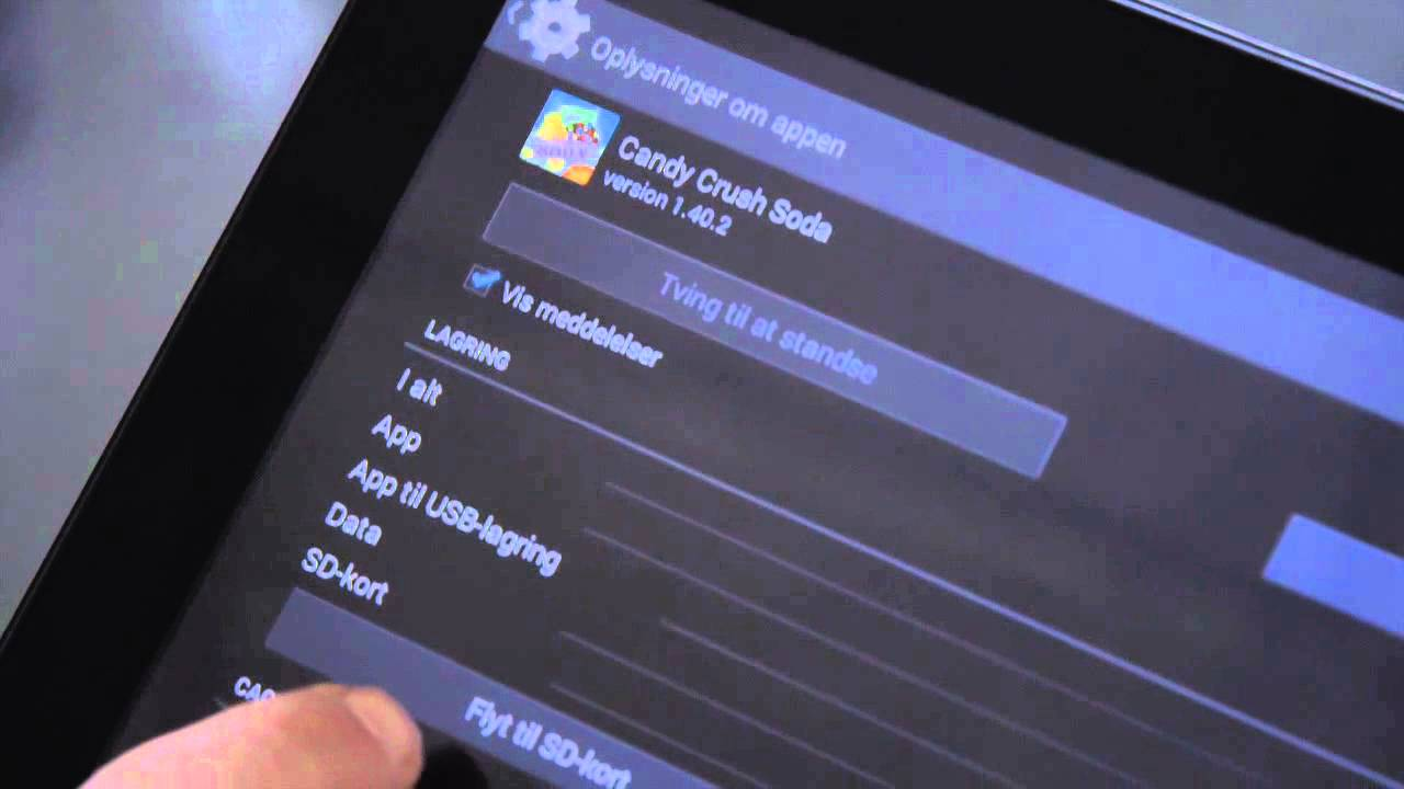Moderne Hvordan man flytter apps på en Denver tablet - YouTube TQ-29