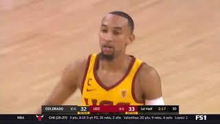 Men's Basketball: USC 70, Colorado 58 - Highlights 1/10/18